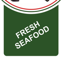 Fresh Seafood at Eddie's Italian Restaurant